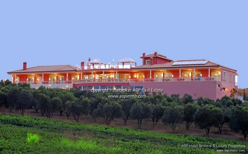 Neu gebautes luxuriöses 4 Sterne Design Hotel mit Blick über das Meer und auf den Olymp ... - Gewerbeimmobilie kaufen - Bild 1