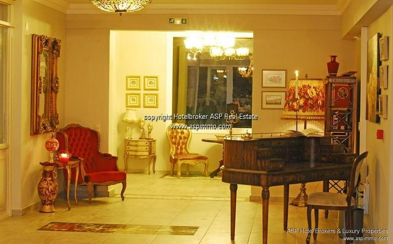 Bild 5: Neu gebautes luxuriöses 4 Sterne Design Hotel mit Blick über das Meer und auf den Olymp ...