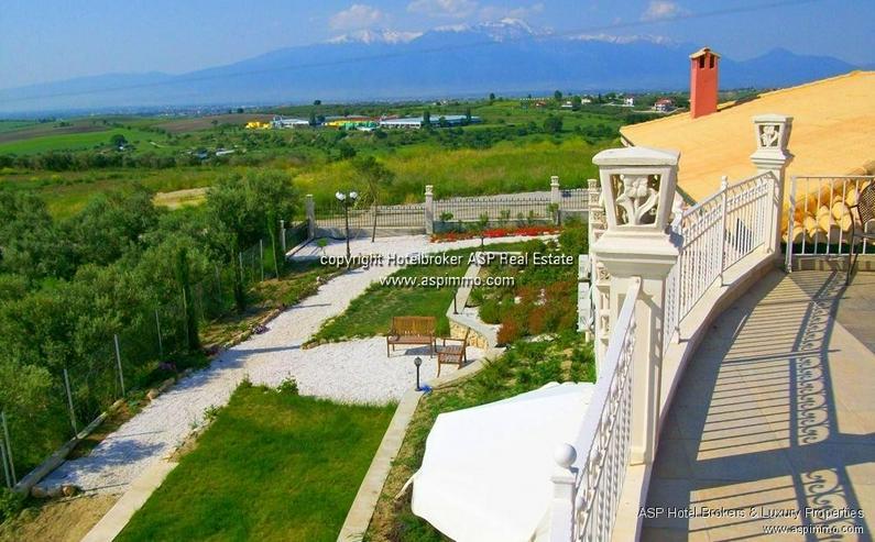 Bild 3: Neu gebautes luxuriöses 4 Sterne Design Hotel mit Blick über das Meer und auf den Olymp ...