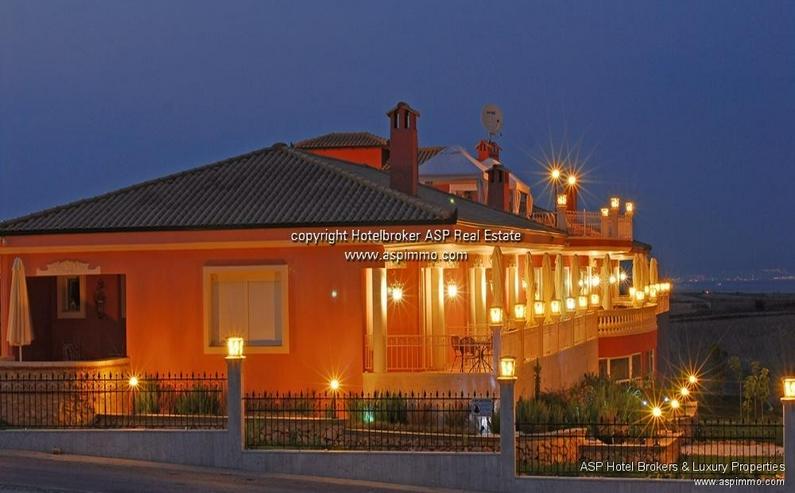 Bild 2: Neu gebautes luxuriöses 4 Sterne Design Hotel mit Blick über das Meer und auf den Olymp ...