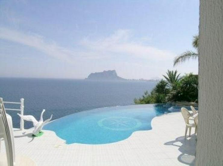 Mittelmeer-Panorama-Traum-Aussicht