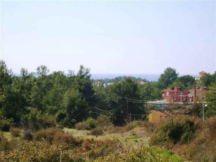 667 qm Baugrundstück in Alanya Avsallar mit TOP Panorama - Grundstück kaufen - Bild 1