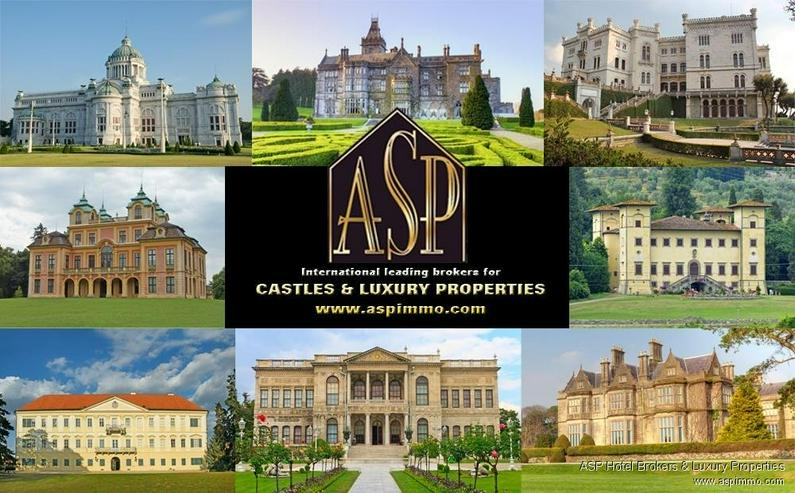 Prachtvolles Schlosshotel mit gut eingeführtem Hotel und Weingut im Herzen der Toskana zu... - Gewerbeimmobilie kaufen - Bild 1