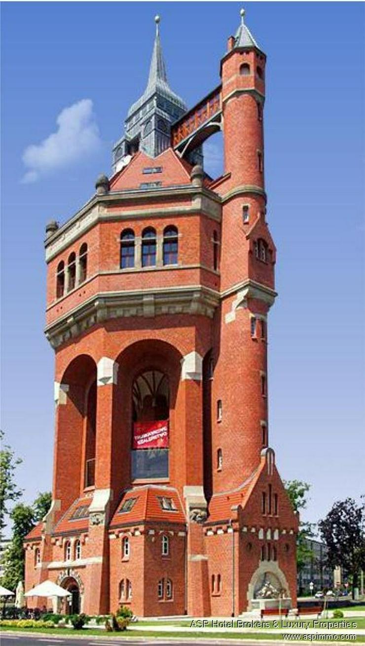 Wahrzeichen in Breslau zu kaufen! Historischer Wasserturm mit 2.000 qm Wohnfläche, Café,... - Gewerbeimmobilie kaufen - Bild 1
