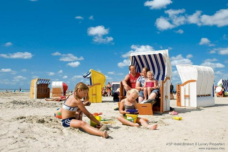 Bild 2: Neu erbautes Luxushotel in einzigartiger Lage direkt an der Nordsee mit 80% Auslastung zu ...