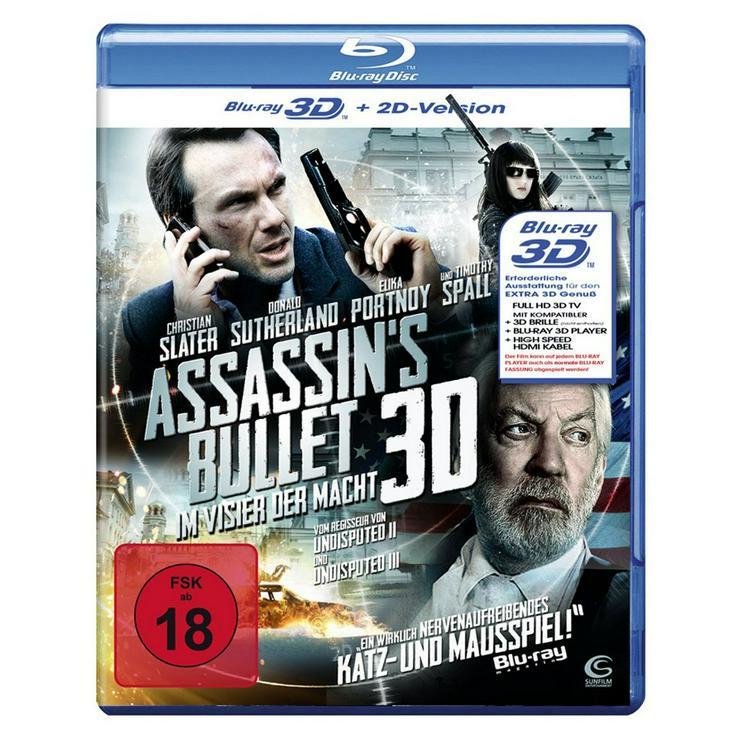 Assassins Bullet   Blu ray DVD