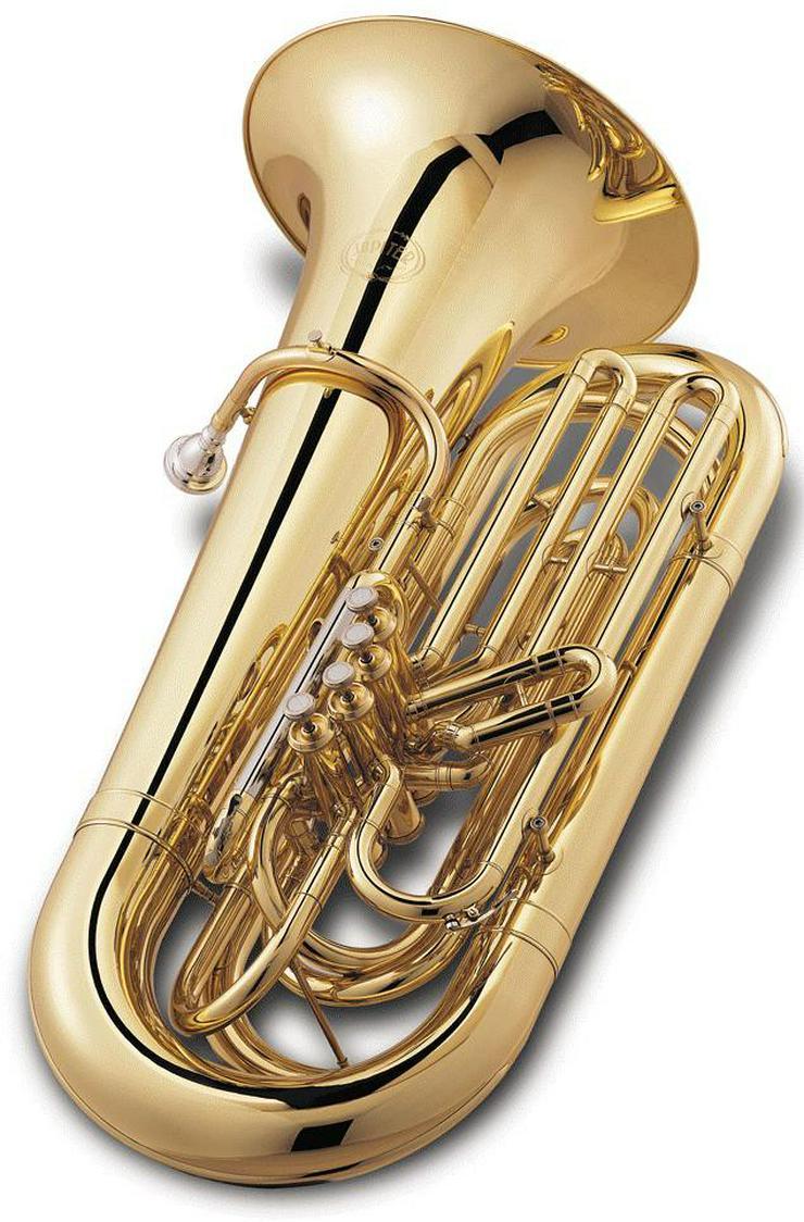 Jupiter Tuba, 4 Ventile, Modell JP-482 L in BBb - Blasinstrumente - Bild 1