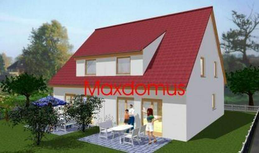 """maxdomus Deutschland """" Wir leben Häuser"""" Haus Lecco Massivhaus - Bild 1"""
