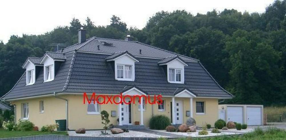"""maxdomus Deutschland """" Wir leben Häuser"""" Haus Palazzo Roma Massivhaus"""