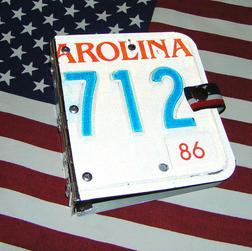 Mappe US Nummernschild CD DVDs Etui - Zubeh�r - Bild 1