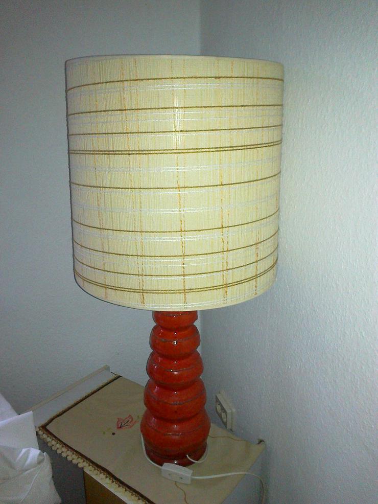 Große Original Retro Tischlampe aus den 70er