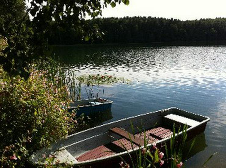 Angelurlaub mit Boot am Schervenzsee