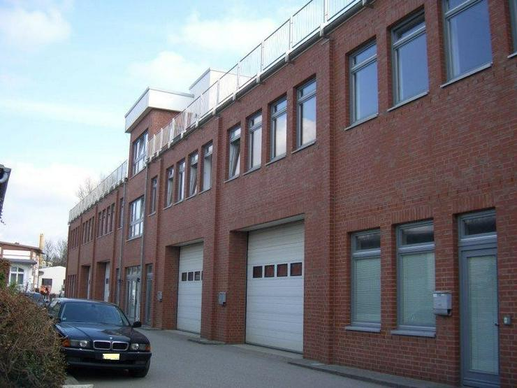 Neuwertige, helle Bürofläche auf kreativem Gewerbehof in Hamburg Bahrenfeld. Küche, WC,... - Gewerbeimmobilie mieten - Bild 1