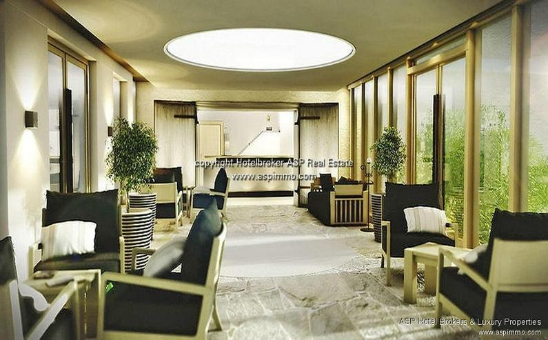 Bild 2: Neues 4-Sterne Luxus Stadthotel zusammen mit einem Schloss an der Donau in der Region Rege...