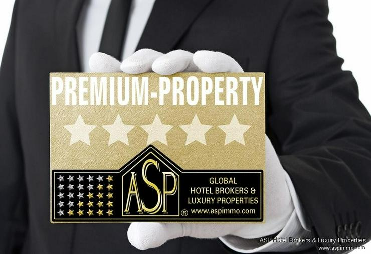 Neues 4-Sterne Luxus Stadthotel zusammen mit einem Schloss an der Donau in der Region Rege... - Gewerbeimmobilie kaufen - Bild 1