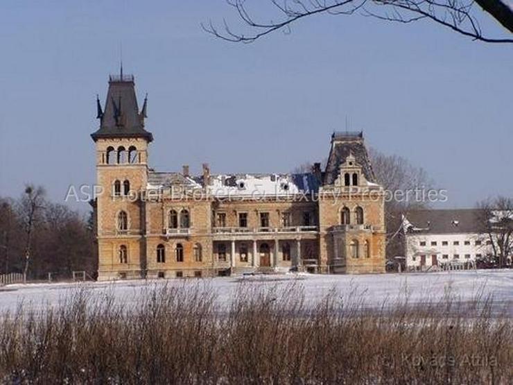 Bild 3: Schloss aus dem 17. Jahrhundert mit ca. 161 Hektar Ländereien vor den Toren von Budapest ...