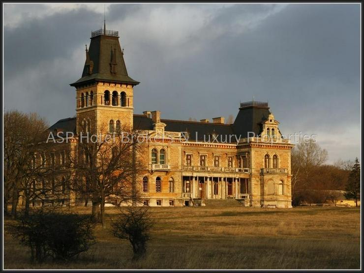 Bild 2: Schloss aus dem 17. Jahrhundert mit ca. 161 Hektar Ländereien vor den Toren von Budapest ...