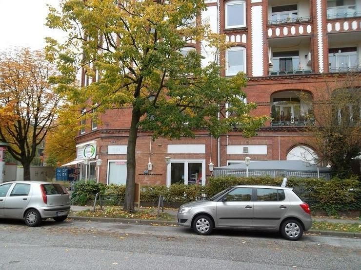 Bild 3: Bürofläche (derzeit Laden) in gefragter Lage in der Schleidenstraße/Biedermannplatz