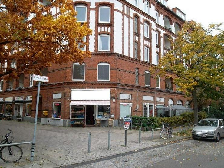 Bild 2: Bürofläche (derzeit Laden) in gefragter Lage in der Schleidenstraße/Biedermannplatz