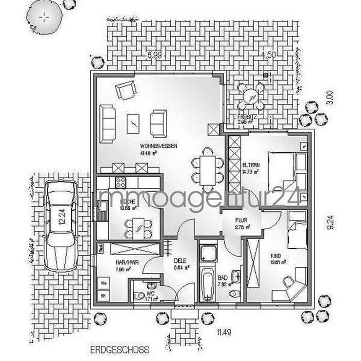 bilder zu fr hlingsspezial haus monsa massivausbauhaus. Black Bedroom Furniture Sets. Home Design Ideas