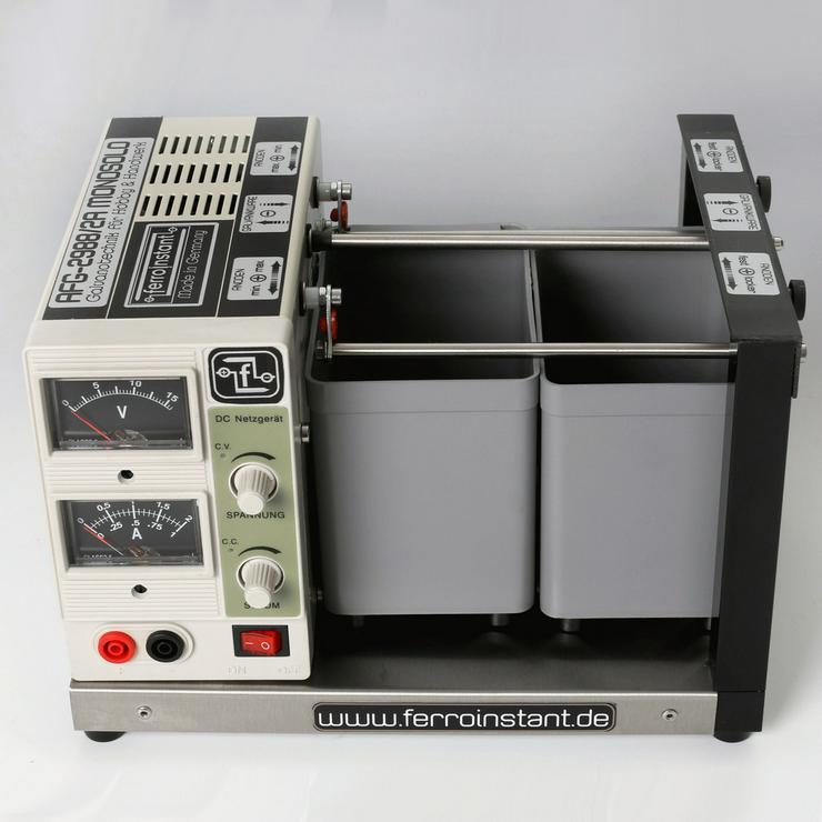 Bild 2: Galvanisiergerät für Hobby und Handwerk