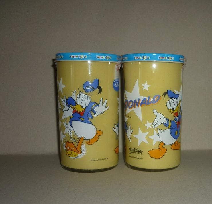 Bautzner KinderSenf Sammelglas Donald Duck