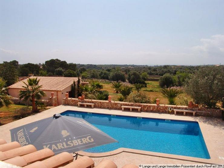 Bild 2: Mallorca - Santanyi - großzügiger Landsitz Finca Santanyi - Spanien Immobilien