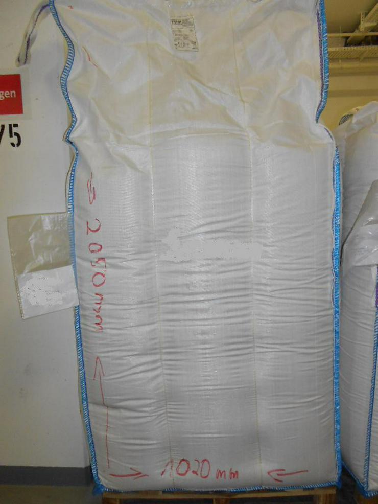 2 Meter hohe Big Bags