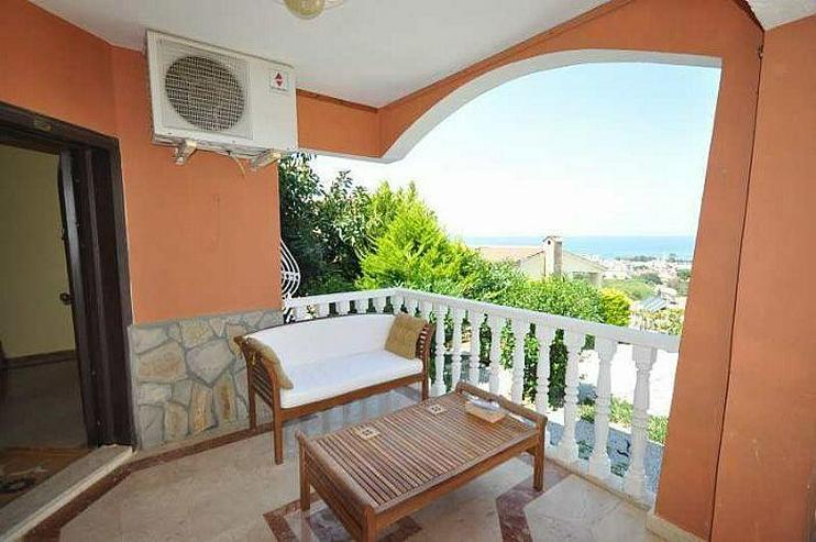 In Alanya/Karg?cak Villa mit Meerblick - Haus kaufen - Bild 1