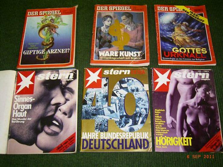 Bild 2: Spiegel und Stern Zeitschriften