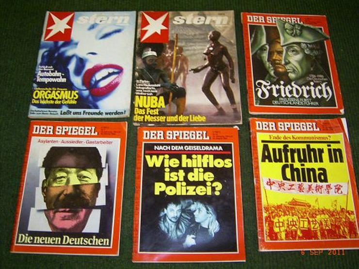 Spiegel und Stern Zeitschriften