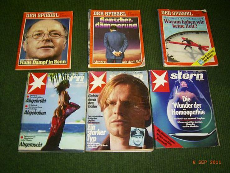 Bild 3: Spiegel und Stern Zeitschriften