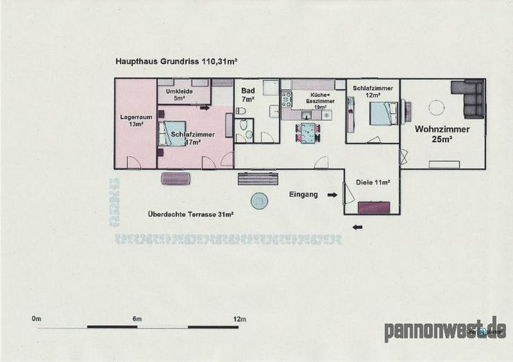 Bild 5: Renoviertes Landhaus mit gr. Grundstück! 4 Zimmern, Gartenbrunnen,TOP Zustand!Grundstück...