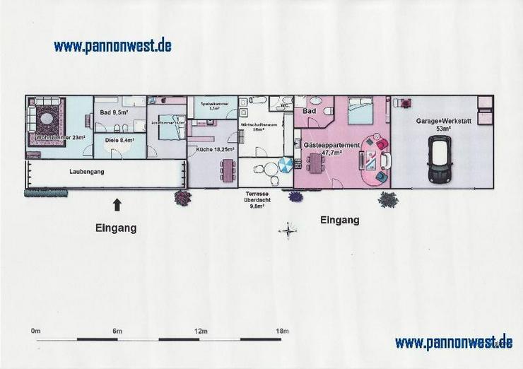 Bild 3: Stilgerecht renoviertes Bauernhaus in Thermennähe