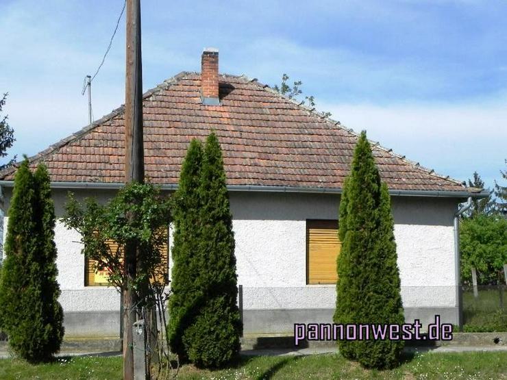 Günstiges Dorfhaus mit schönem breitem Grundstück - Haus kaufen - Bild 1