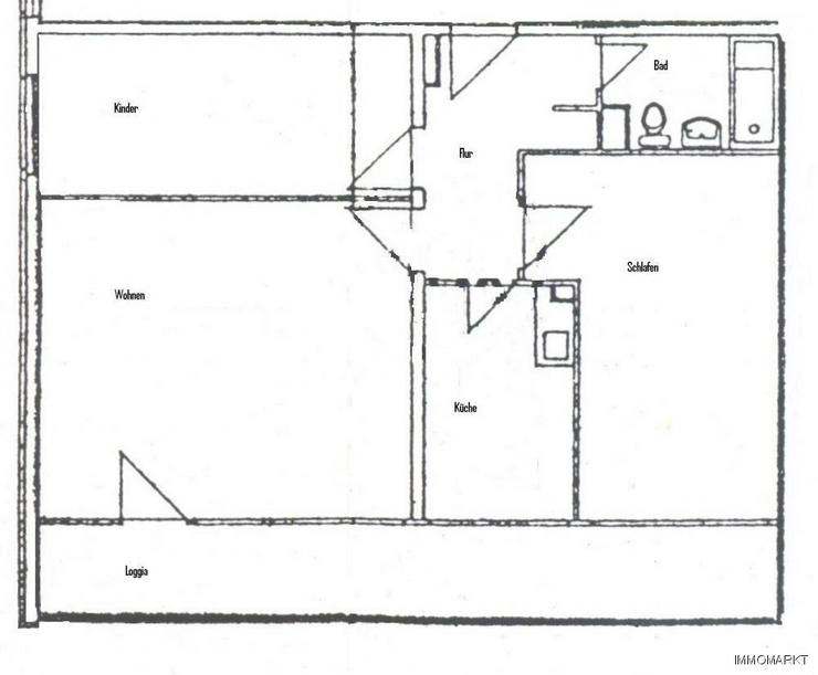 Bild 2: ***Zentral wohnen mit großen Balkon***