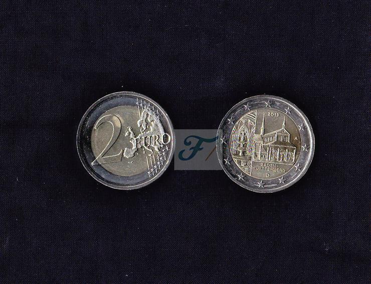 2-Euro Gedenkprägung BW - Kloster Maulbronn-