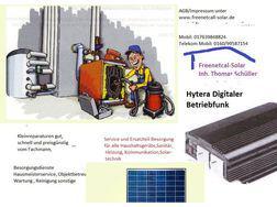 FreenetCall-Solar, Funk- Solartechnik