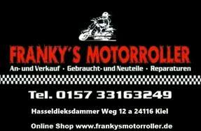 Frankys Motorroller An Verkauf